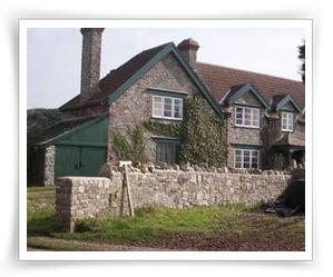 stonemasonry work at cottage